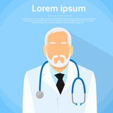 Senior Medical Doctor Profile Icon Male Portrait Royalty Free Stock Photos