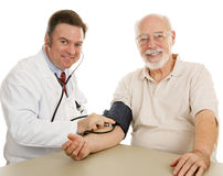 Senior Medical - Good Checkup Stock Photography