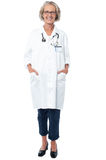 Senior medical professional posing Royalty Free Stock Photo