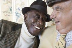 Senior Men Smiling  Royalty Free Stock Image
