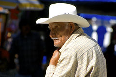 Senior mexican man Royalty Free Stock Images