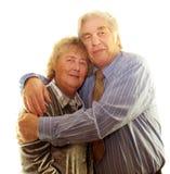 senior miłości. fotografia stock