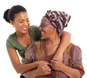 Senior mother daughter Royalty Free Stock Image