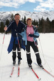Senior Nordic Couple Stock Photography