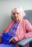 senior obywatela prezent Fotografia Stock