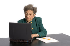 Senior office executive Stock Photo