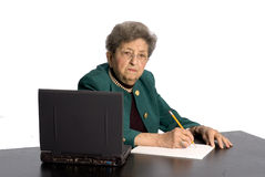 Senior office executive Stock Photography