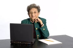Senior office executive Stock Images