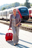 Senior older woman at Royalty Free Stock Photo