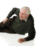 Senior Pain Royalty Free Stock Photography