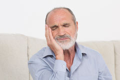 Senior in pain Stock Photography