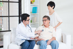 Senior people healthcare concept Royalty Free Stock Photo