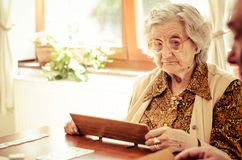 Senior people Royalty Free Stock Image