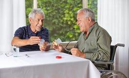Senior people taking medication Royalty Free Stock Photo