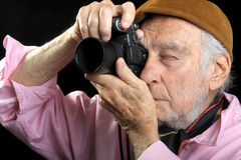 Senior Photographer Royalty Free Stock Photography