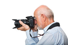 Senior photographer Royalty Free Stock Photos