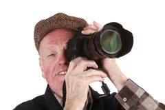 Senior photographer Stock Photos