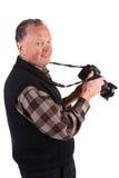 Senior photographer Royalty Free Stock Photos