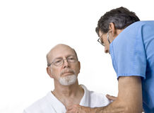 Senior Physical Exam Stock Photos