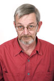 Senior portrait 1. Serious royalty free stock images