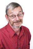Senior portrait 2. Silly stock image