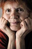 Senior portrait Royalty Free Stock Image