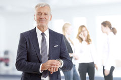 Senior professional man Royalty Free Stock Images