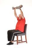 Senior retired man exercising Stock Photography