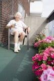 Senior retired woman Stock Photos