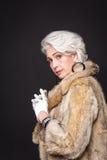 Senior Rich Woman Stock Photography