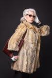 Senior rich woman Royalty Free Stock Photos