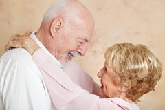 Senior Romance Royalty Free Stock Image