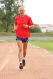 Senior runner Stock Image
