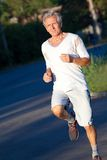 Senior runner Royalty Free Stock Photography