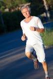 Senior runner Royalty Free Stock Photography