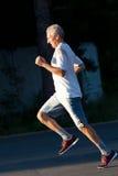Senior runner Royalty Free Stock Image