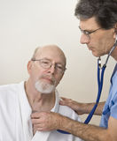 Senior's Medical Exam royalty free stock images