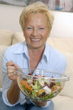 Senior salad. Stock Image