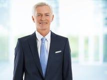 Senior sales man Royalty Free Stock Images
