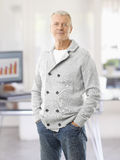 Senior sales man in the office Stock Photography