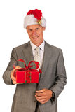 Senior Santa Claus Stock Image