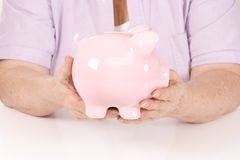 Senior Savings Stock Photography