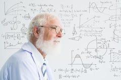 Senior scientist stock photos