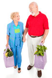 Senior Shoppers - Renewable Resources Stock Photos