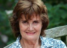senior smiling woman Στοκ εικόνες με δικαίωμα ελεύθερης χρήσης