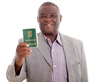 Senior south african man Stock Photography