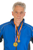 Senior sportsman Royalty Free Stock Photography