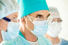 Senior surgeon Royalty Free Stock Photos