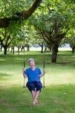 Senior Swinger Royalty Free Stock Image