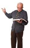Senior teacher Royalty Free Stock Image